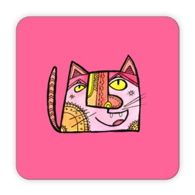 Костер (подставка под кружку) Кот Васька