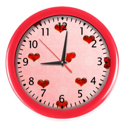 Настенные часы Сердечный бум