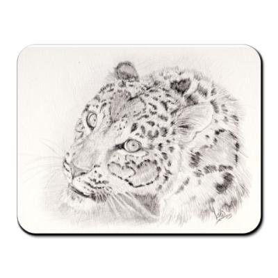 Коврик для мыши леопард