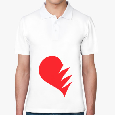 Рубашка поло Сердце на двоих