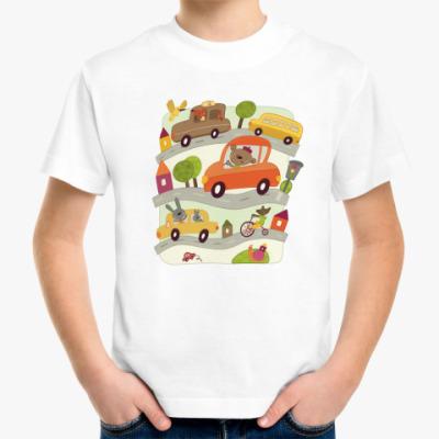 Детская футболка Машинки