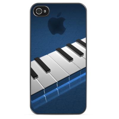 Чехол для iPhone 'Клавиши'
