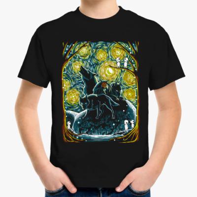 Детская футболка Звездный Лес Мононоке