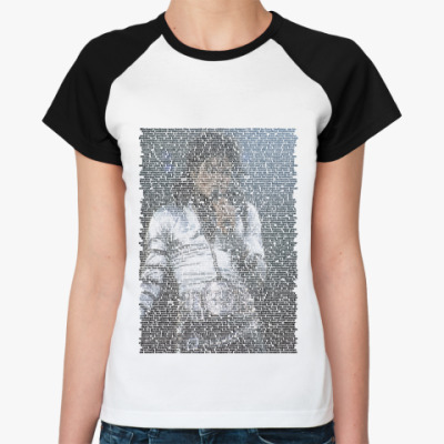 Женская футболка реглан Michael