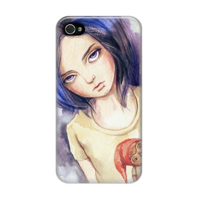 Чехол для iPhone 4/4s Doll