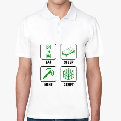 Рубашка поло Minecraft