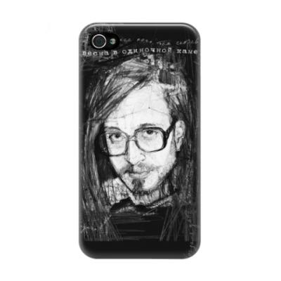 Чехол для iPhone 4/4s Егор Летов