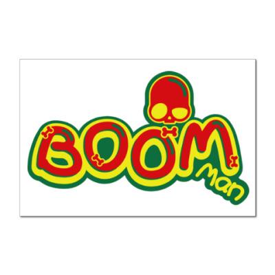 Наклейка (стикер) Boom Man