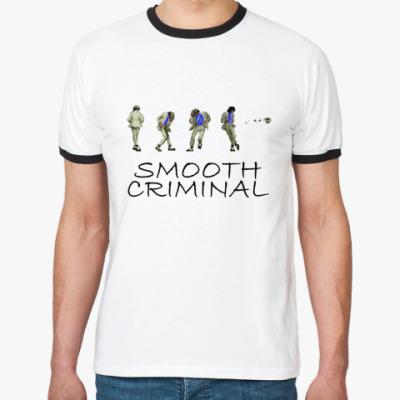 Футболка Ringer-T Smooth Criminal