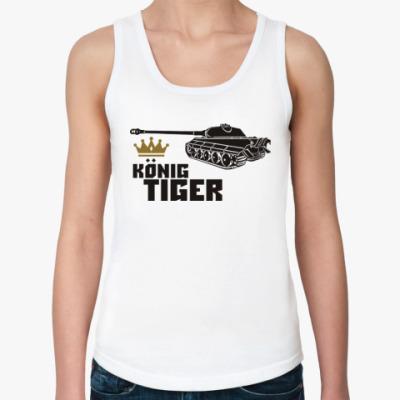Женская майка Королевский Тигр