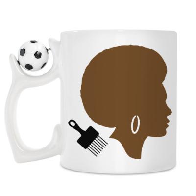 Кружка Afro Lady