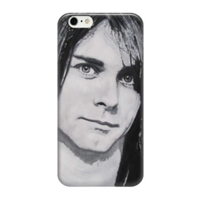 Чехол для iPhone 6/6s Kurt Cobain