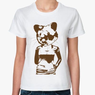 Классическая футболка  HAMSTER
