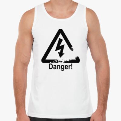 Майка Danger - Опасность