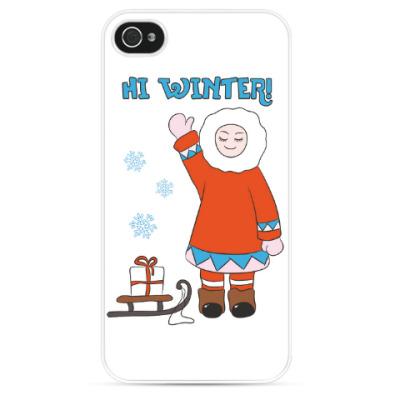 Чехол для iPhone Hi Winter: зима, которая всегда с тобой