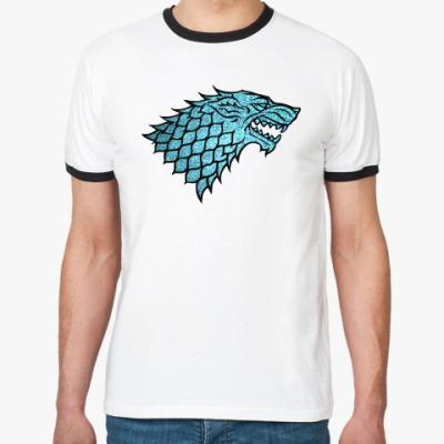 Футболка Ringer-T Stark Wolf