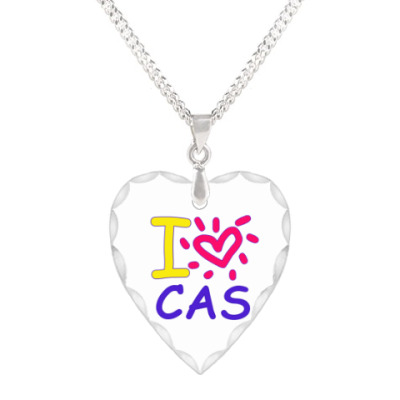 Кулон 'сердце' Supernatural - I love Cas
