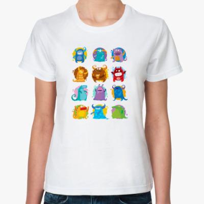 Классическая футболка '12 месяцев'