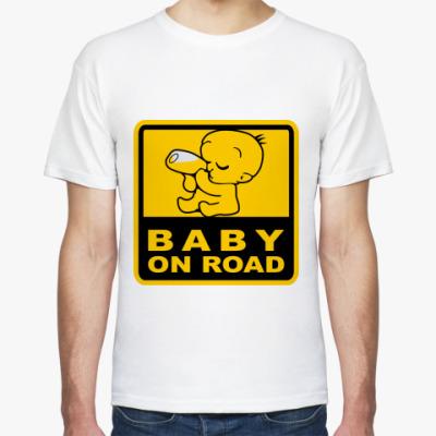 Футболка Baby On Road