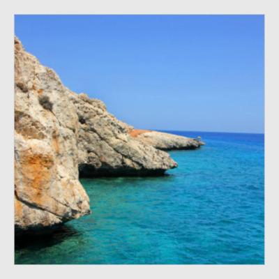 Постер Море, солнце, лето