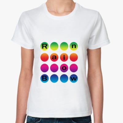 Классическая футболка Rainbow