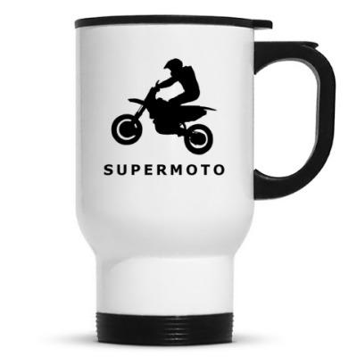Кружка-термос SUPERMOTO