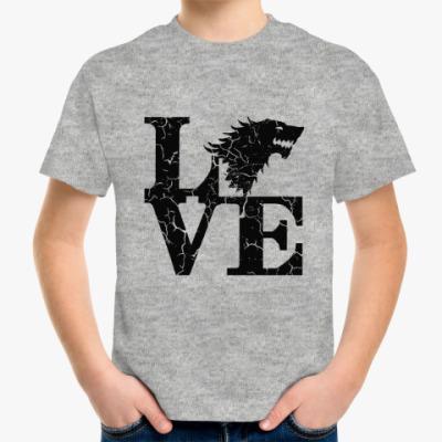 Детская футболка Игра престолов. Старки