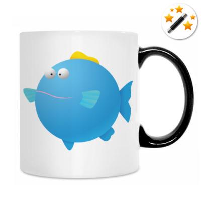 Кружка-хамелеон Рыба