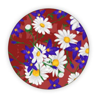 Костер (подставка под кружку) Полевые цветы
