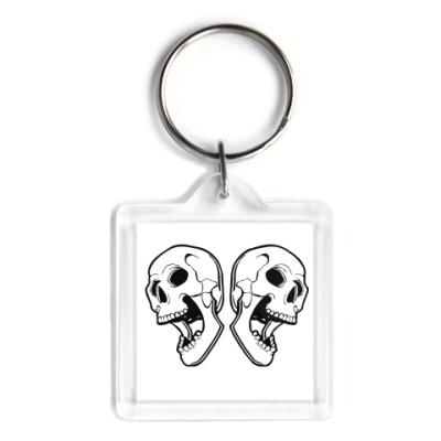 Брелок skulls