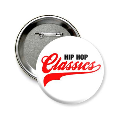 Значок 58мм Hip Hop Classics