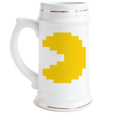 Пивная кружка  Pacman
