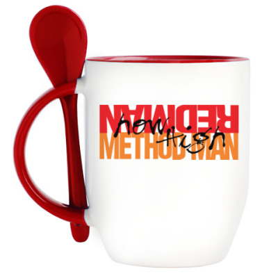 Кружка с ложкой Method Man & Redman