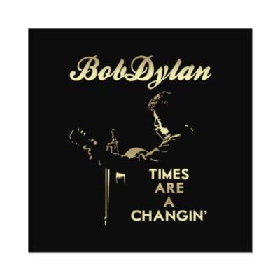 Наклейка (стикер) Bob Dylan