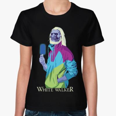 Женская футболка White Walker Игра престолов