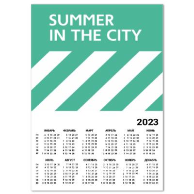 Календарь Календарь A2 Summer in the City (2016)