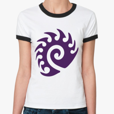 Женская футболка Ringer-T Zerg