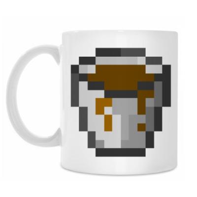 Кружка 'Кофе Minecraft'
