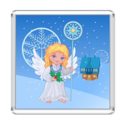 Магнит  Рождественский Ангел