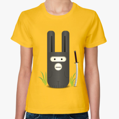 Женская футболка Ниндзаяц