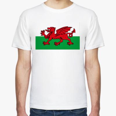 Футболка Флаг Уэльса