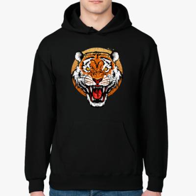 Толстовка худи Бенгальский Тигр