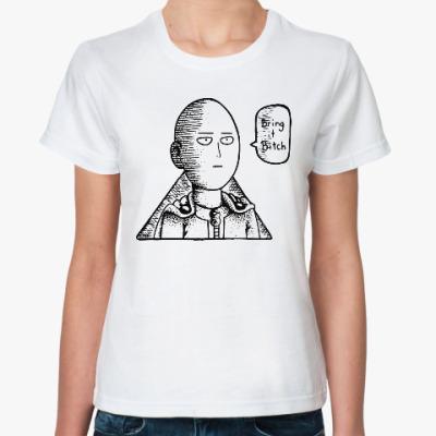 Классическая футболка Ванпанчмен One Punch Man