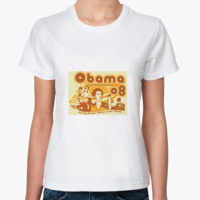 Классическая футболка FUNKY ОБАМА