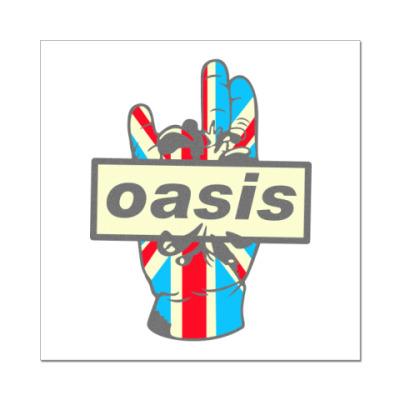 Наклейка (стикер) Oasis