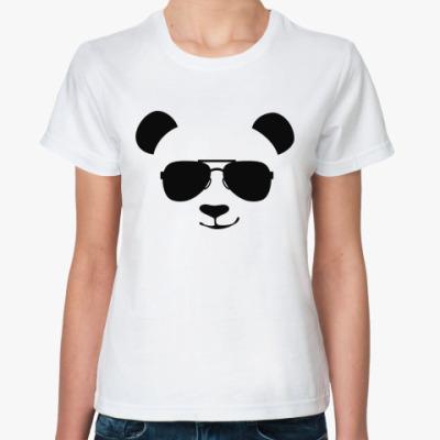 Классическая футболка Крутая панда