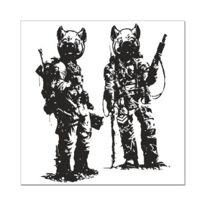 Наклейка (стикер) War Pigs