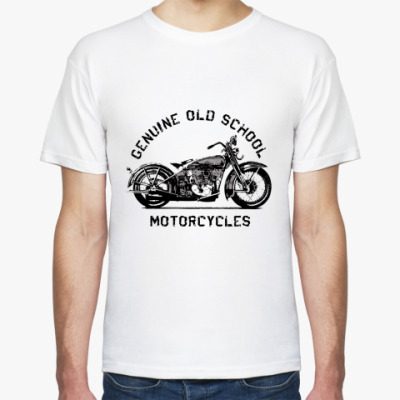Футболка Old School Motorcycles