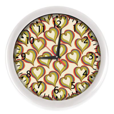 Настенные часы Абстрактная любовь