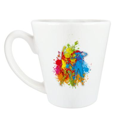 Чашка Латте Dance